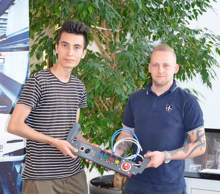 Hashem Hossaini: Lehre als Mechatroniker bei der steirischen KNAPP AG