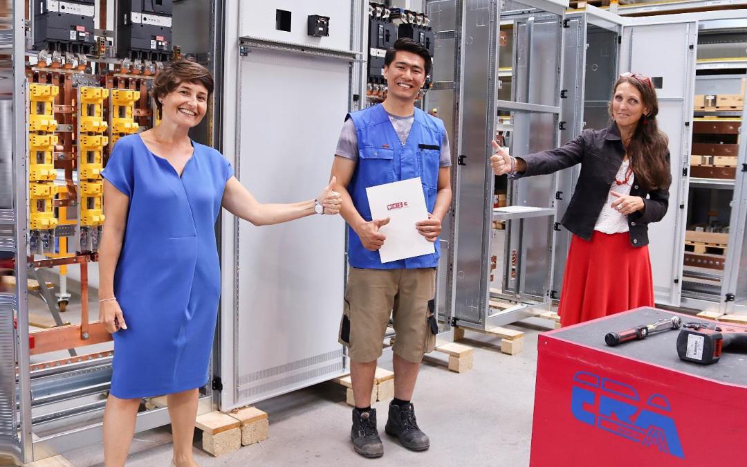 Ali NAZARI – Lehrabschluss mit guten Erfolg als Elektrotechniker